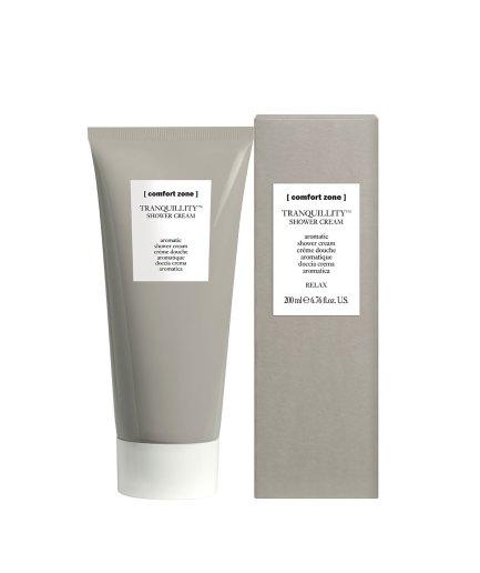 product en verpakking Tranquillity shower cream [comfort zone] puurwellnessamersfoort