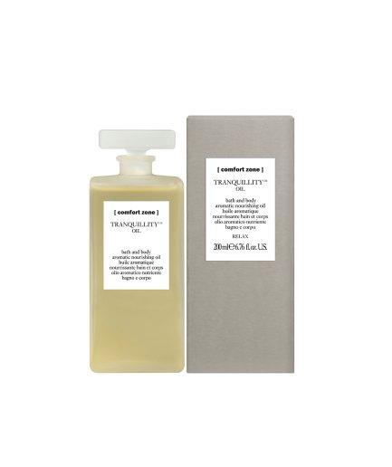 product en verpakking Tranquillity oil 200ml [comfort zone]- puurwellnessamersfoort