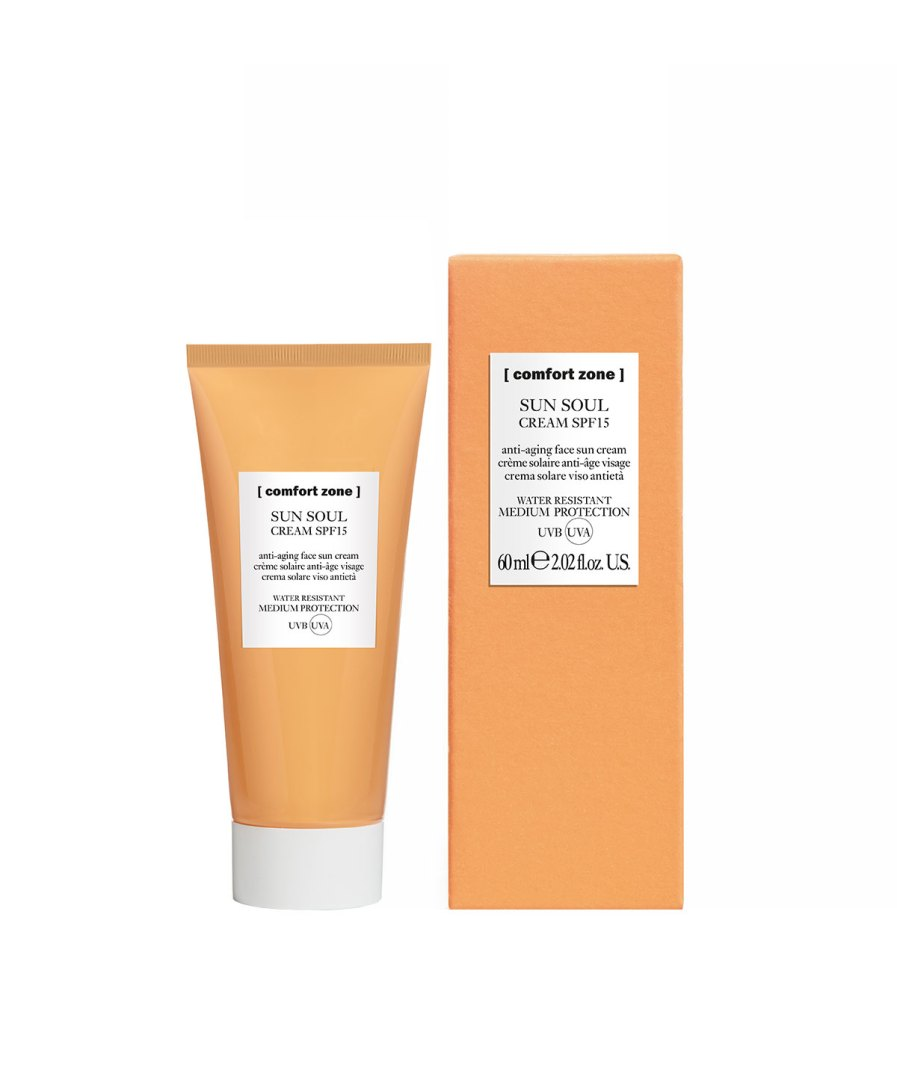 Sun soul face cream spf15 60ml product-en-verpakking [comfort zone] Puur Wellness Amersfoort