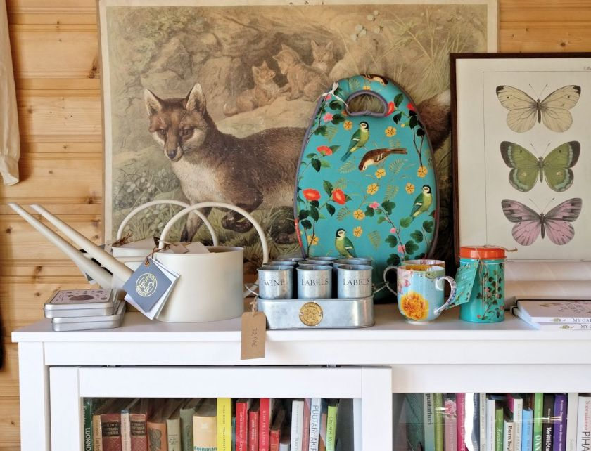 Burgon & Ballin Flora & Fauna ja Sophie Conran tuotteita.