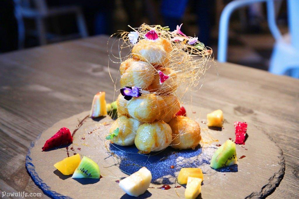 【臉紅的相遇】台南中西區。法式輕食早午餐推薦!薄餅、鹹派、甜點都好吃♥