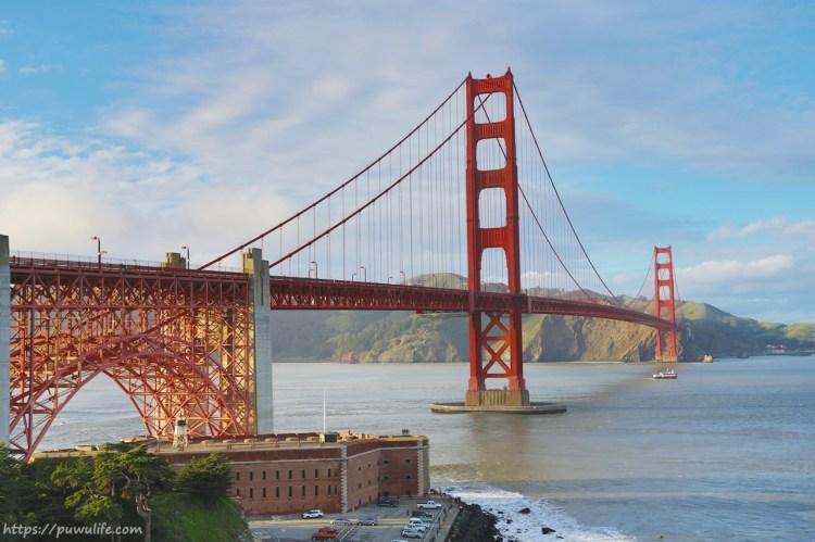 【美西自由行】舊金山金門大橋Golden Gage Bridge♥交通與最佳觀景點分享