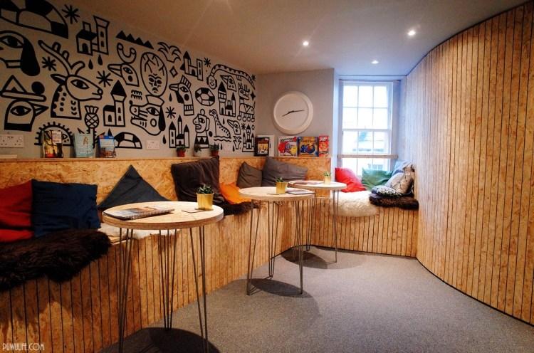 【英國遊學】蘇格蘭愛丁堡青年旅館.Haystack Hostel.5分鐘到Edinburgh Waverley火車站