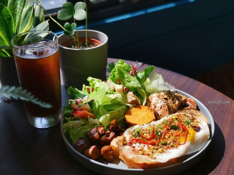 【早捌】台中中區。柳川旁動人的光影早午餐,不限時早午餐推薦❤