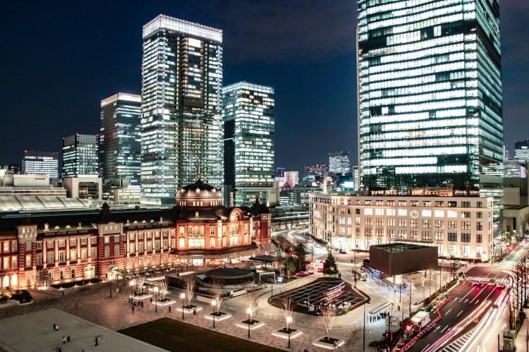 【東京自由行】東京車站導覽地圖、東京車站10間飯店住宿推薦❤