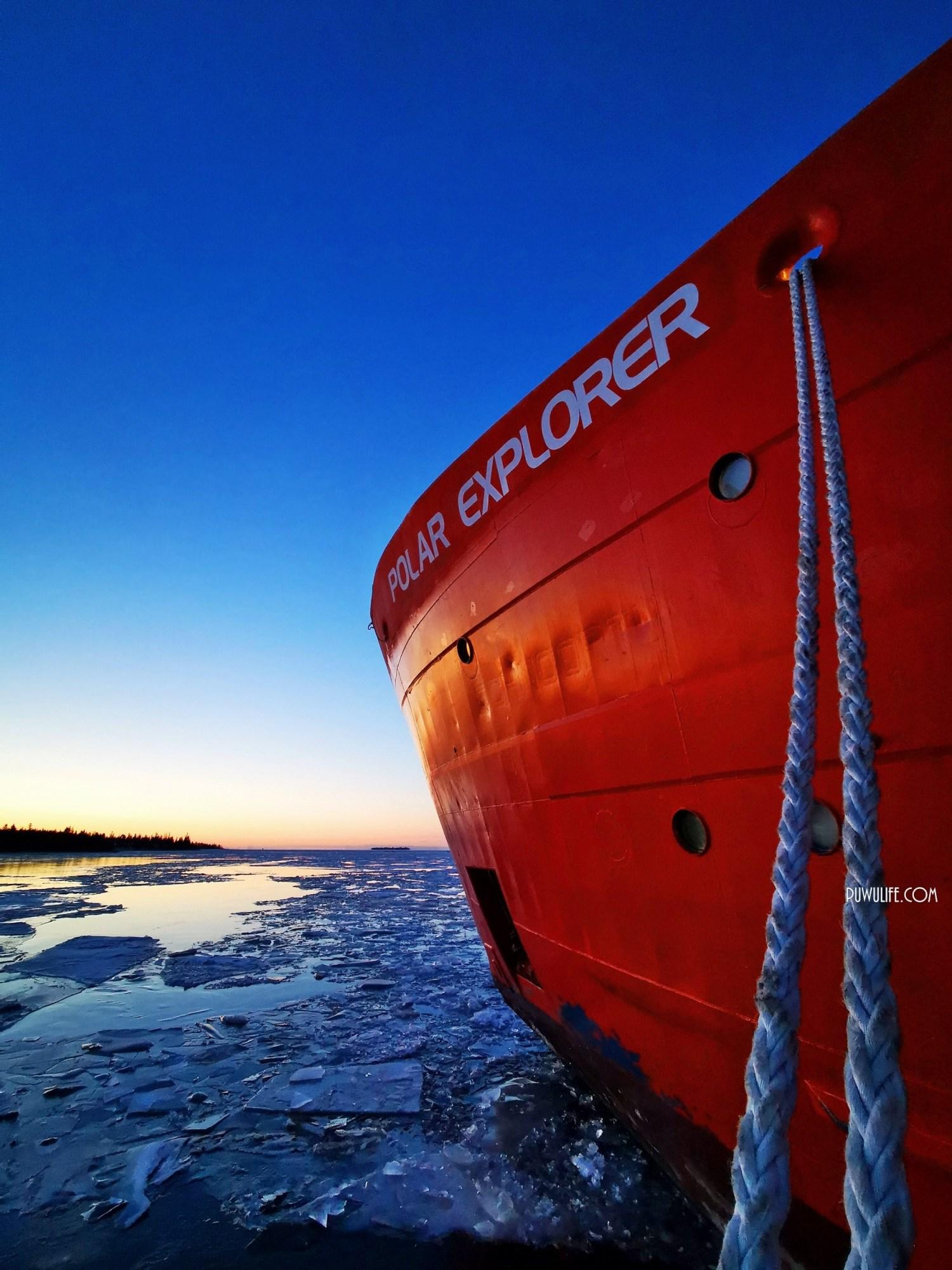 【芬蘭自由行】芬蘭極地破冰之旅 x 冰海漂浮.極地探險號破冰船 Polar Explorer Icebreaker