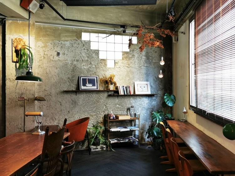 二子咖啡|請你輕聲細語!台南成大周邊二樓咖啡館