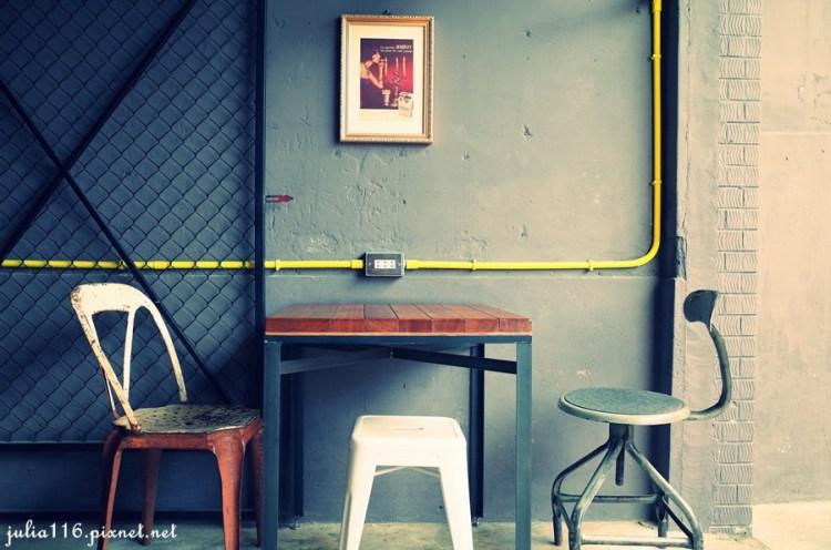 【ici cafe】台南中西區。老屋的時尚與頹廢之鬆餅真的好好吃啊♥