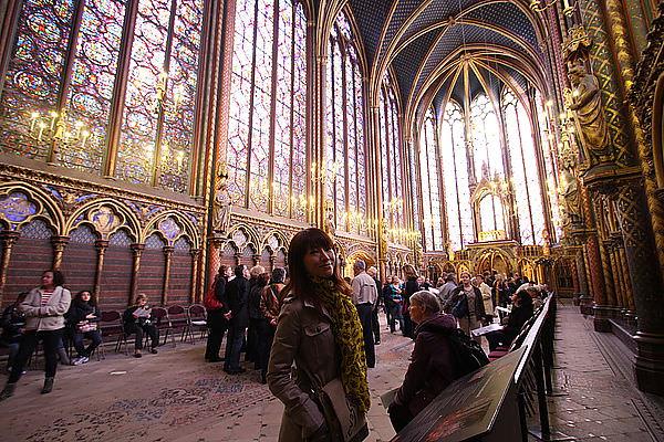 【巴黎自由行】聖禮拜堂。巴黎古監獄