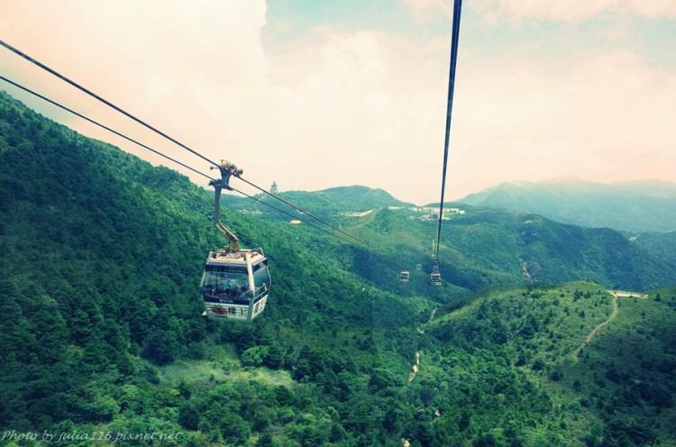 【六訪香港】昂平360纜車初體驗~大嶼山美景盡收腳底❤(含交通、購票資訊分享)
