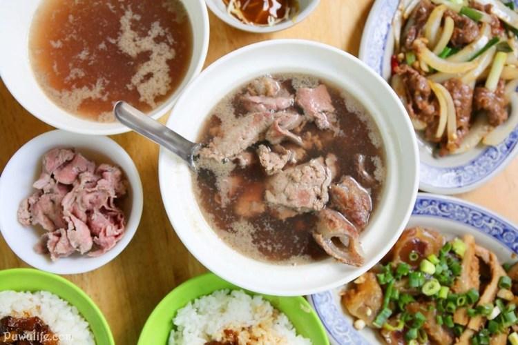 【西羅殿牛肉湯】台南市北區。點牛肉湯附免費肉燥飯!川燙x熱炒x滷味一牛三吃♥