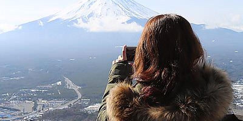 【東京過年去】天上山公園眺望富士山與河口湖美景