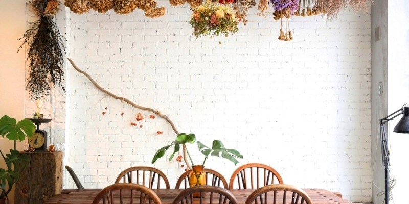 【墨樂咖啡.Meller Cafe】台南市安平區。台南乾燥花咖啡廳推薦!抹茶戚風x手沖單品x花藝空間♥♥