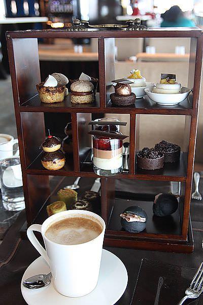 【前進紅勘】全球最高麗池卡登酒店。Cafe 103巧克力下午茶