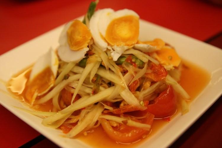 【去不膩呀曼谷】SOMTAM NUA青木瓜沙拉專賣店