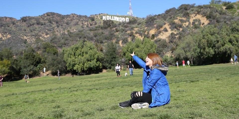 【美西自由行】LAKE HOLLYWOOD PARK.拍攝好萊塢標誌地點推薦♥