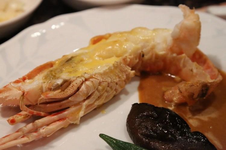 【新濱鐵板燒】光復北。40餘年老字號鐵板燒~推薦超值龍蝦餐!