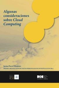 Algunas consideraciones sobre Cloud Computing