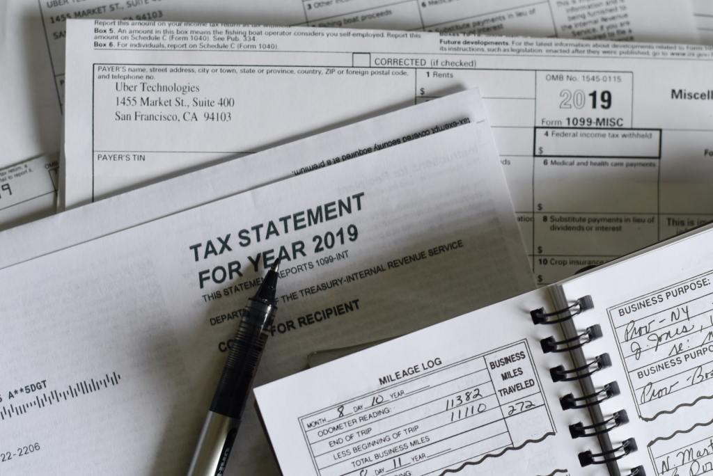 税金書類の画像