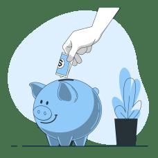 貯金の画像