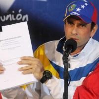 El chavismo quiere estatizar a la oposición