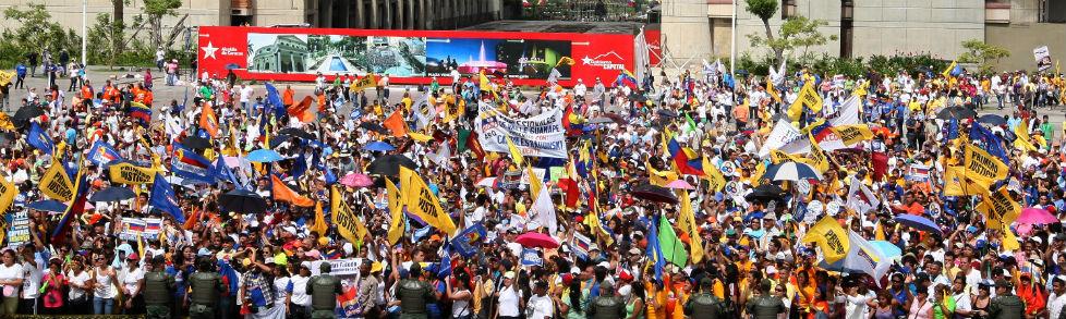 Gobierno prepara elecciones generales en las cuales no podrá participar la oposición