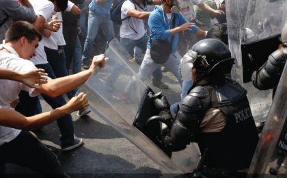Seis de cada 10 ciudadanos creen que se violaron los DDHH para controlar protestas