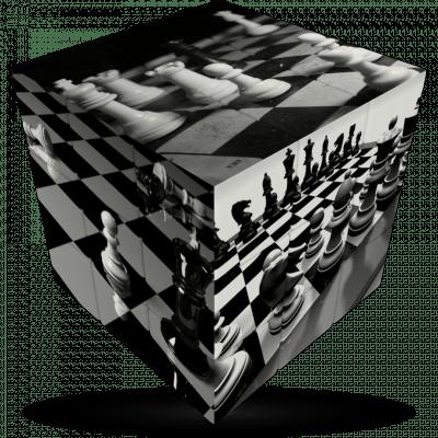 Resultado de imagen para CHESS BOARD CUBE
