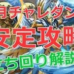 【パズドラ】2月チャレダン9(チャレンジ9/サブなし)を安定攻略!2021年上級1