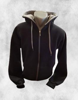 duks jakna crna