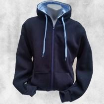 duks jakna teget svetlo plavo