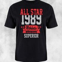 1389 crna majica crvena