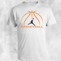 basketball 1 bela majica