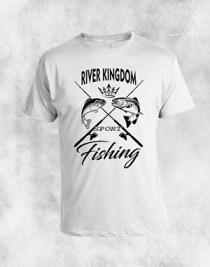 fishing 1 bela majica