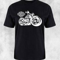 harley davidson crna majica