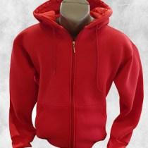 duks jakna crvena komplet