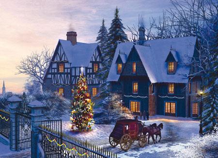 Eurographics 60000428 Weihnachten Zu Hause