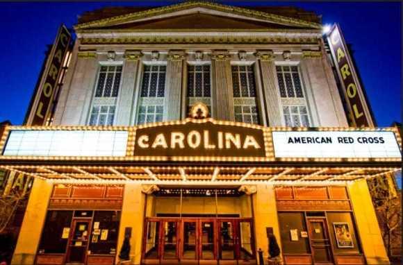 Carolina Theatre Front View Greensboro North Carolina