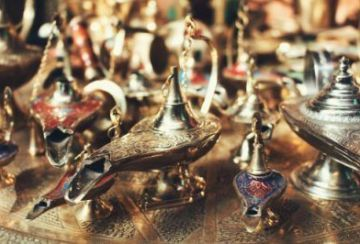 Collection of Genie Lamps--don't summon a Djinn!