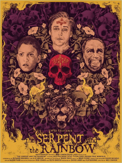 The Serpent and the Rainbow Movie Poster