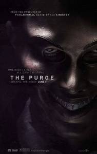 The Purge Horror Movie Poster 2013