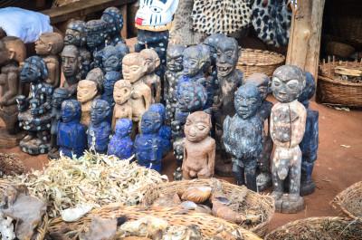 Voodoo Market in Bohicon, Benin