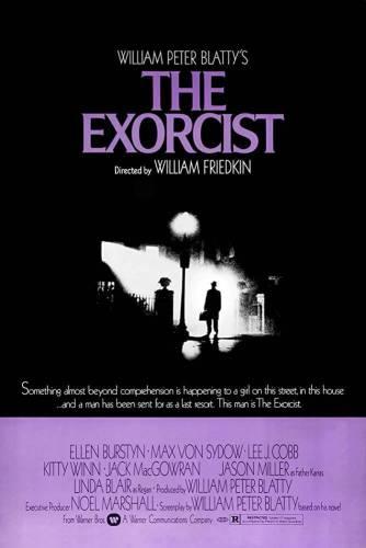 The Exorcist Horror Movie Poster