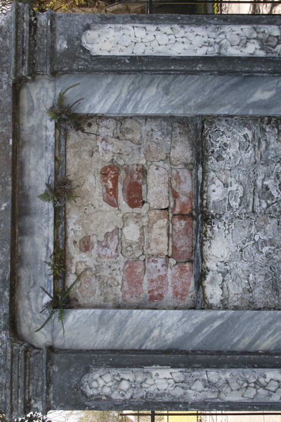 Lafayette Cemetery 2 Puzzle Box Horror images tomb with bricks