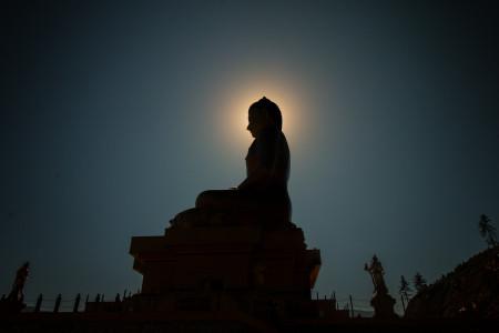 Tibetan Buddha Statue Meditation