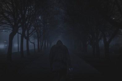 Walking Down a Dark Street