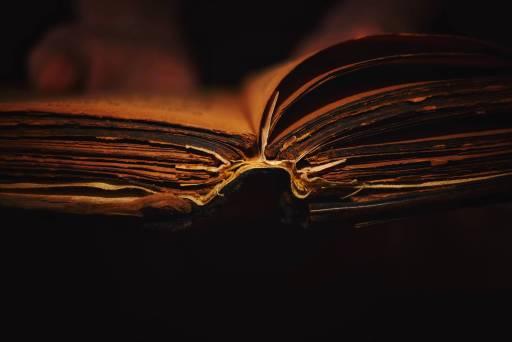 old cursed book