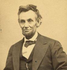 United States President Abraham Lincoln