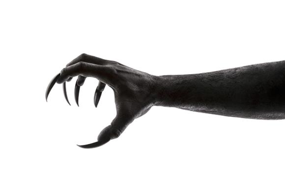 Scary Kushtaka hand