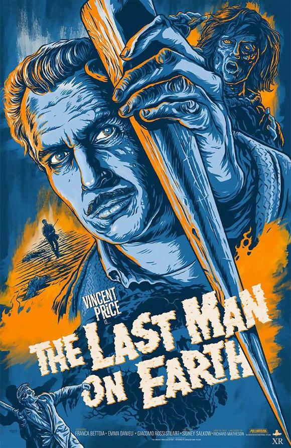 The Last Man On Earth (1964) Movie Poster